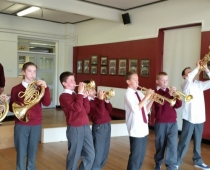 Brass in the class
