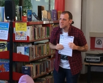 Visit of author Alan Early