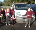 Car wash for Aoife, October 11th, 2014
