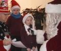 Praying with Santa