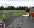 New school sensory garden/play area completed