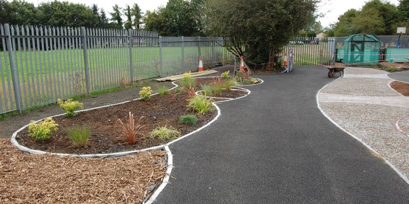 New sensory garden/play area
