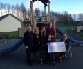 St. Conaire's donates €700 to Irish Wheelchair Association