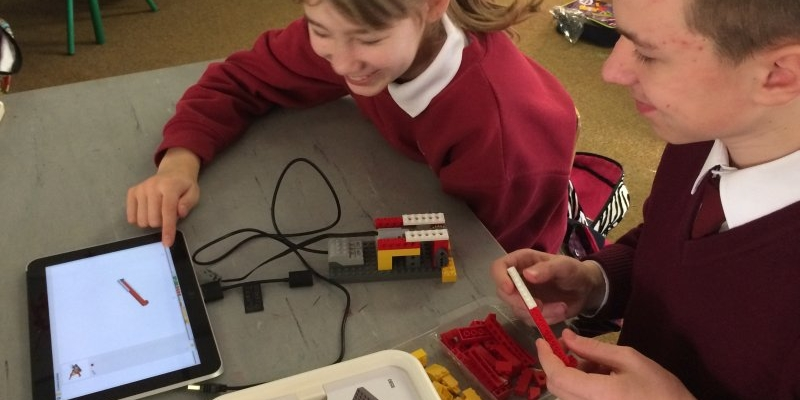 LEGO WeDo in action
