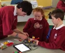 LEGO WeDo in action