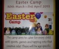 Easter Camp 2015