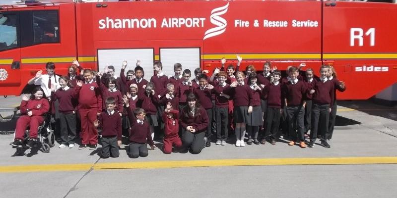 Shannon Airport Visit