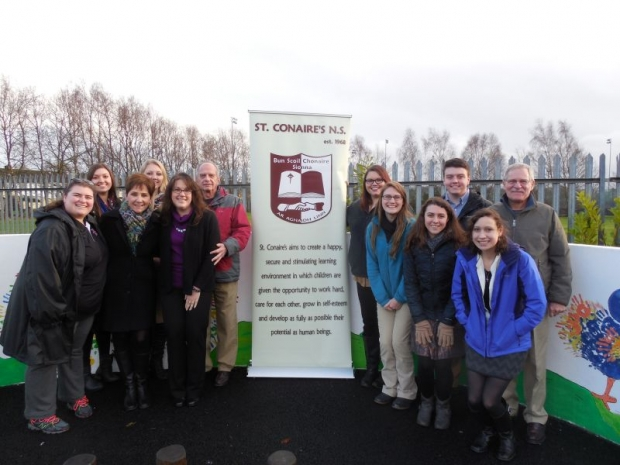 US students go to school in St. Conaire's