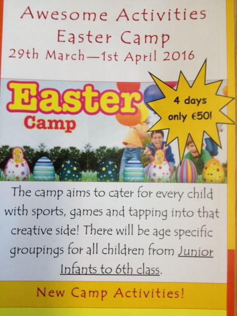 Awesome Activities Easter Camp 2016