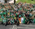 School turns green for Euro 2016