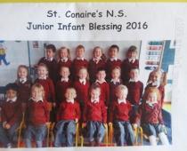 Junior Infant Blessing '16
