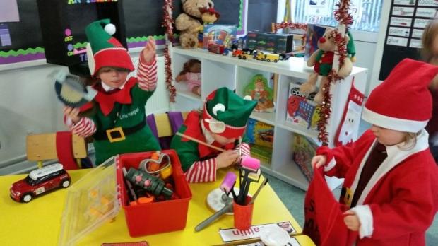 Santa's Elves at work