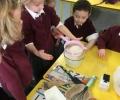 Junior Infants make pancakes