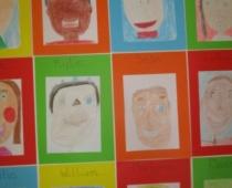 Ms Ní Mhuiris's Class Art