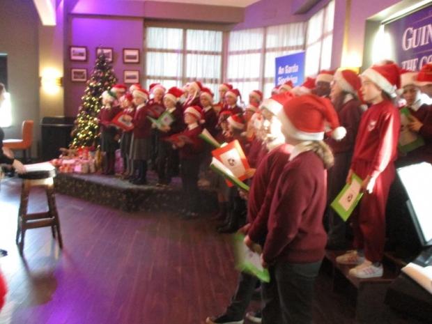 St. Conaire's Choir at Shannon Garda Senior Citizen Party