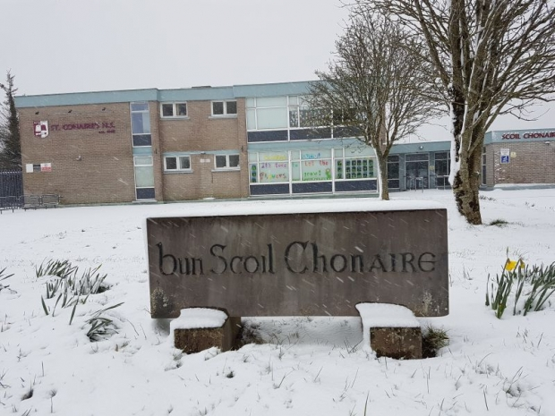 Snowy Scenes at St. Conaire's